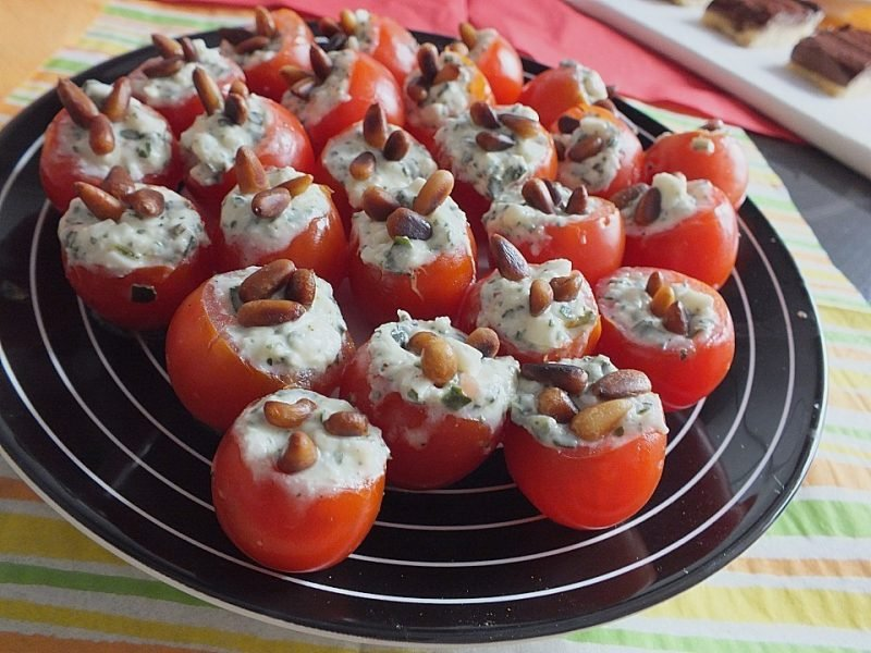 fingerfood kalt tomaten