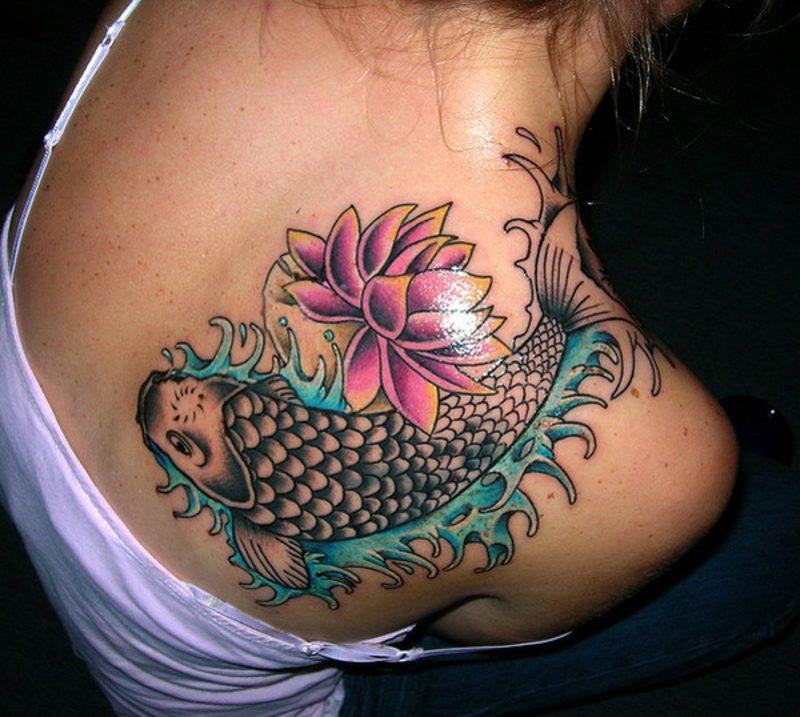 fisch tattoo Impresionantes
