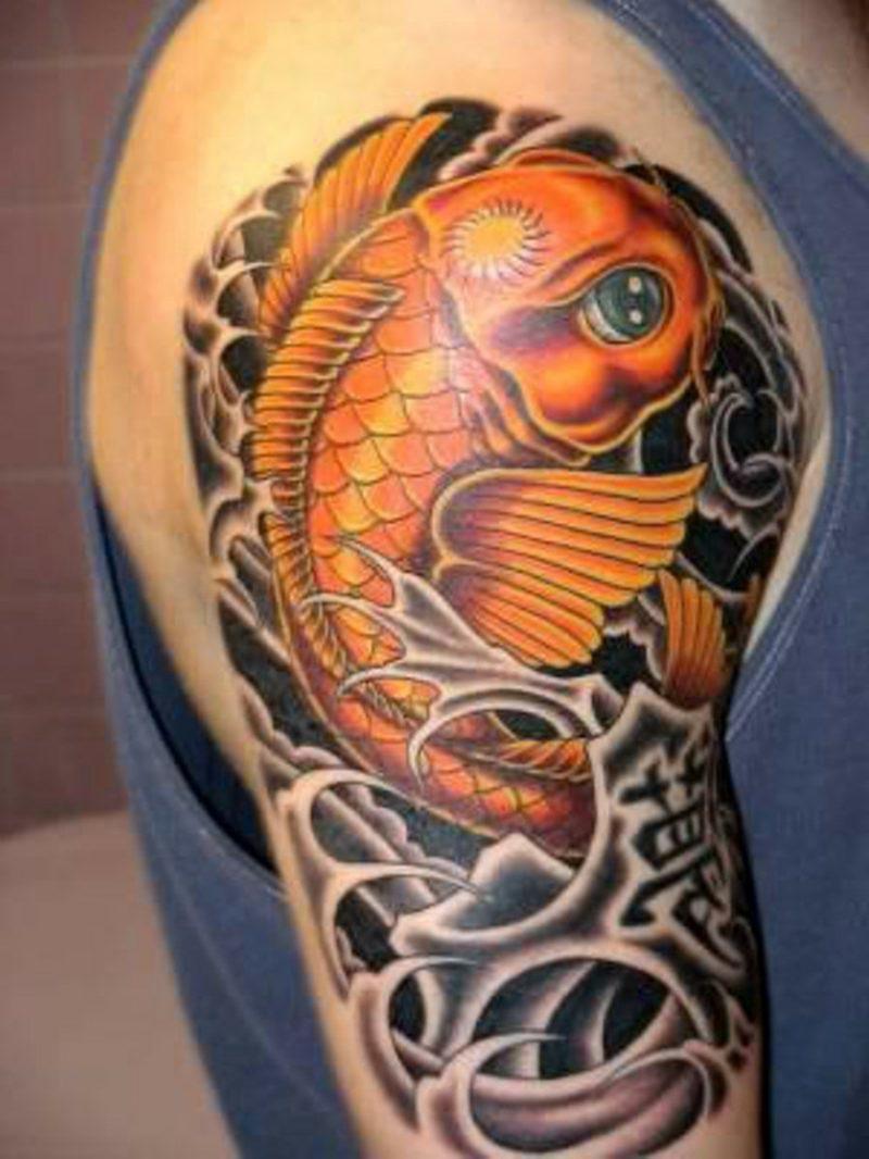 fisch tattoo Koi Fish Tattoo