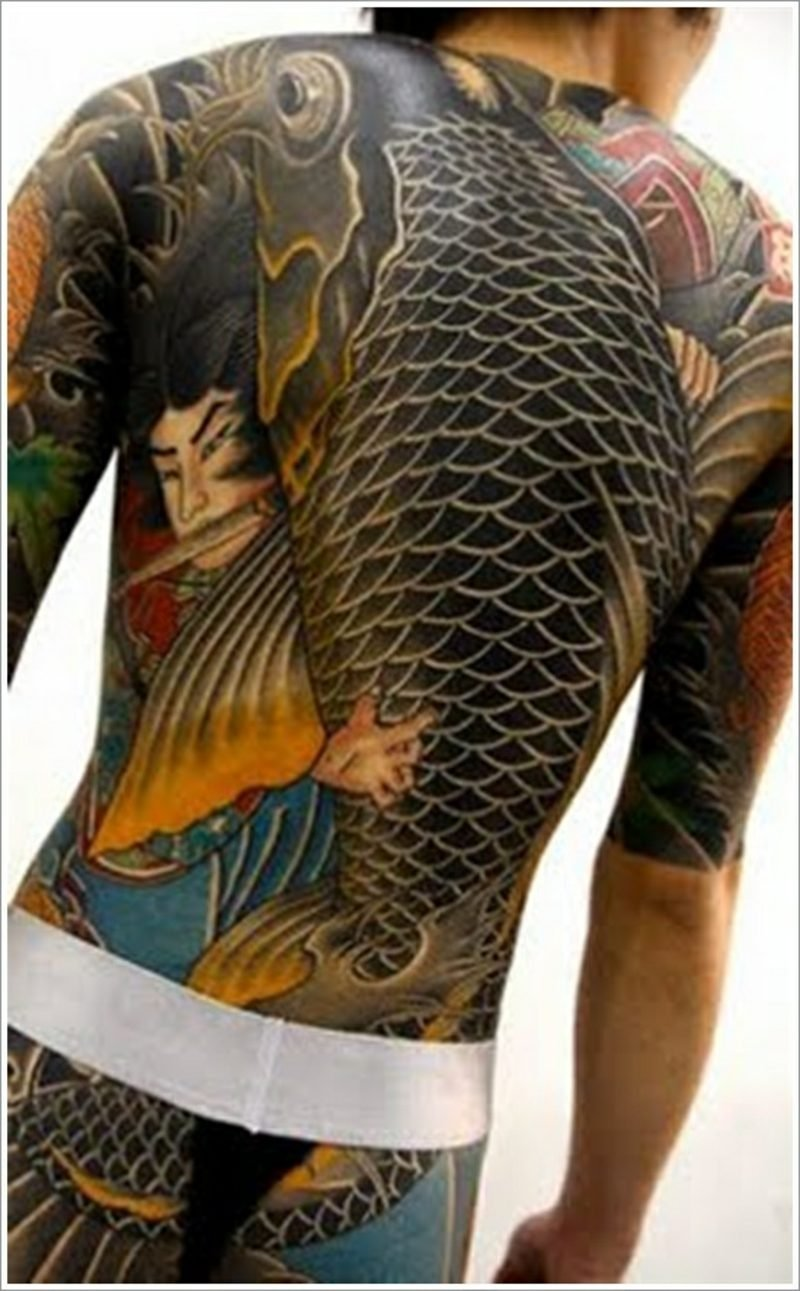 fisch tattoo koi fish