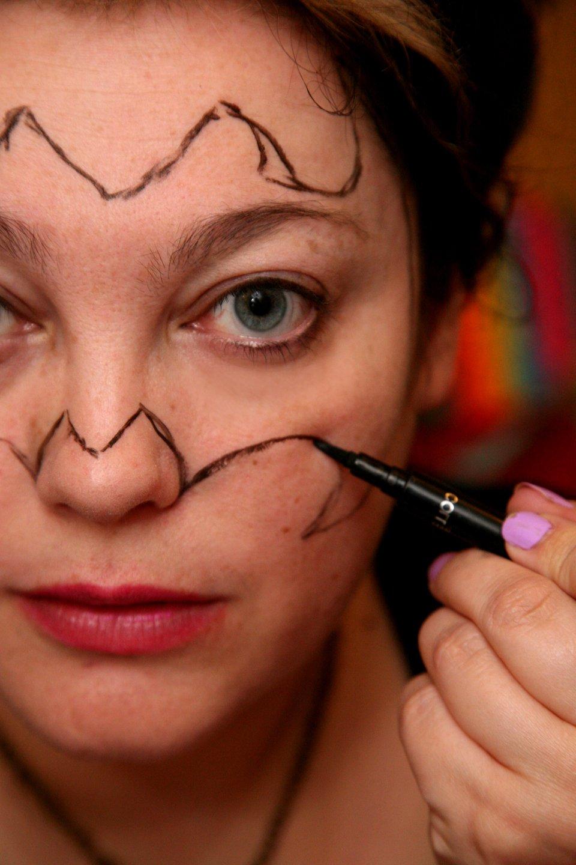 fledermaus schminken kreativ