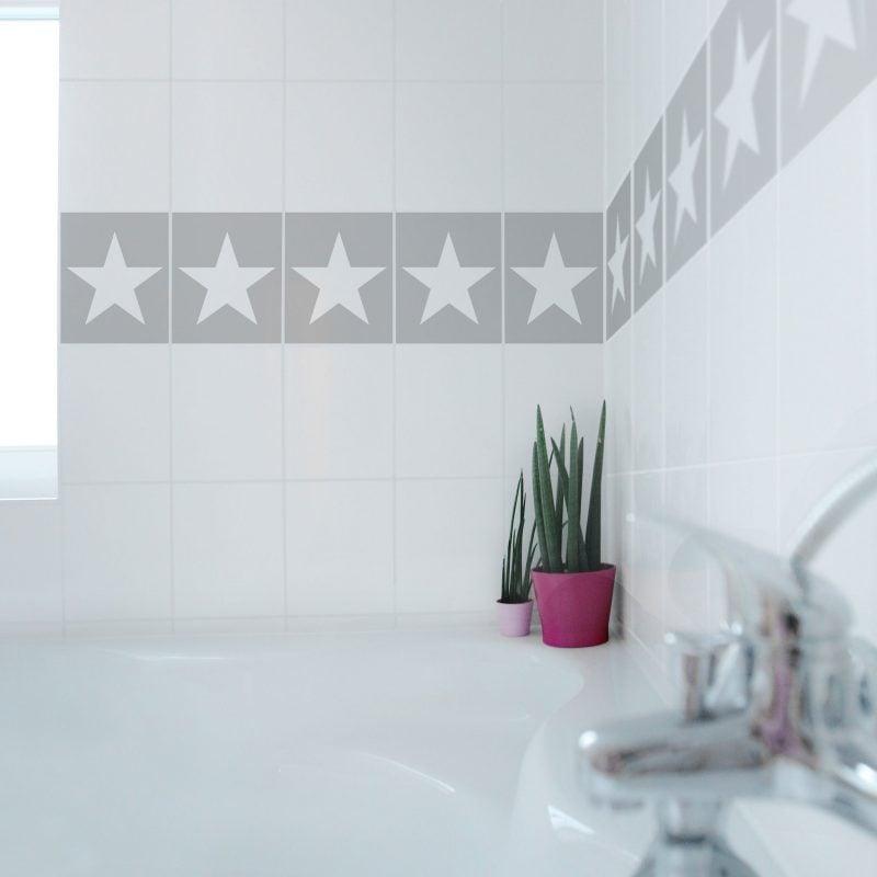 Fliesenaufkleber für Bad - 21 kreative Ideen zur Erfrischung ...