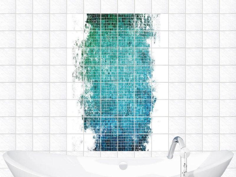 fliesenaufkleber für bad effektvoll