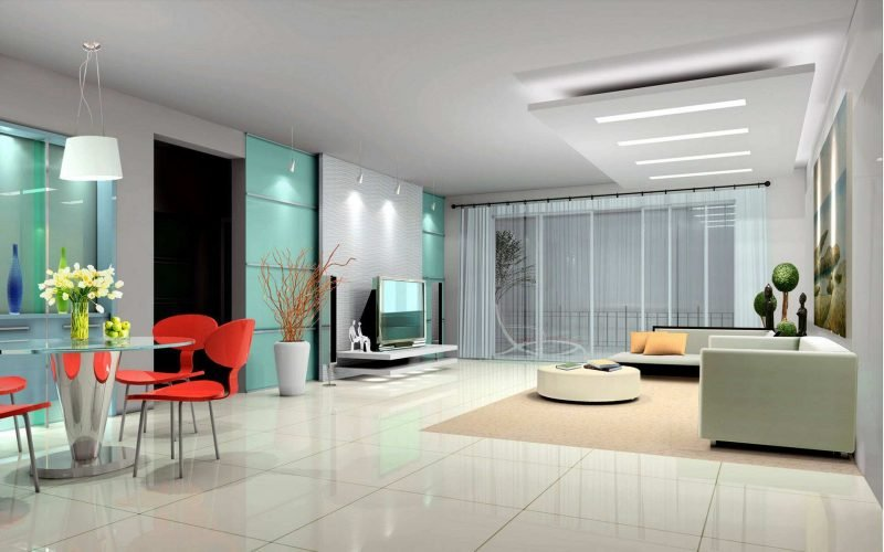 Einzigartige Gestaltung 19 Ideen F R Fliesen Im Wohnzimmer