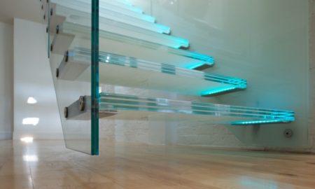 freitragende Treppe originelle Designideen