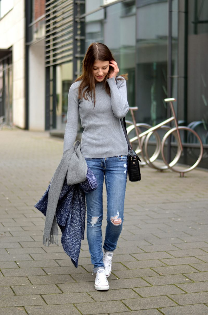 Frühlingsoutfit Jeans