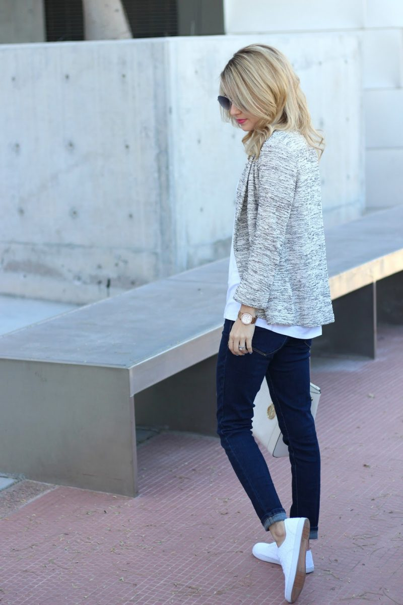 Frühlingsoutfit Sneakers Casual