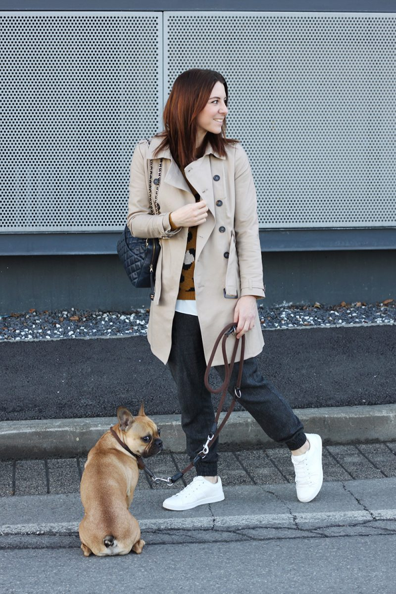 Frühlingsoutfit Trench Coat