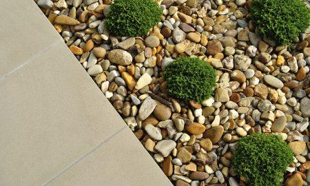 Ideen für Gartengestaltung mit Kies