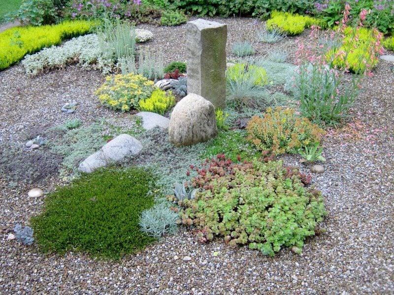 Gartengestaltung mit Kies Design