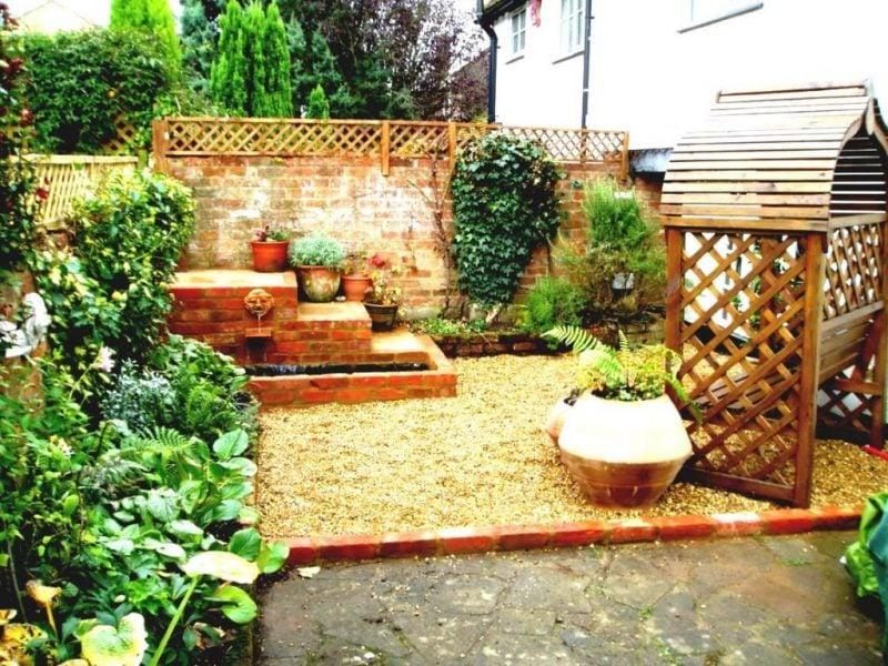 Gartengestaltung mit Kies Ideen