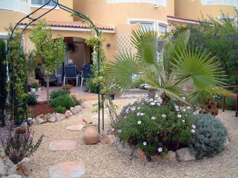 Gartengestaltung mit Kies Einrichtung