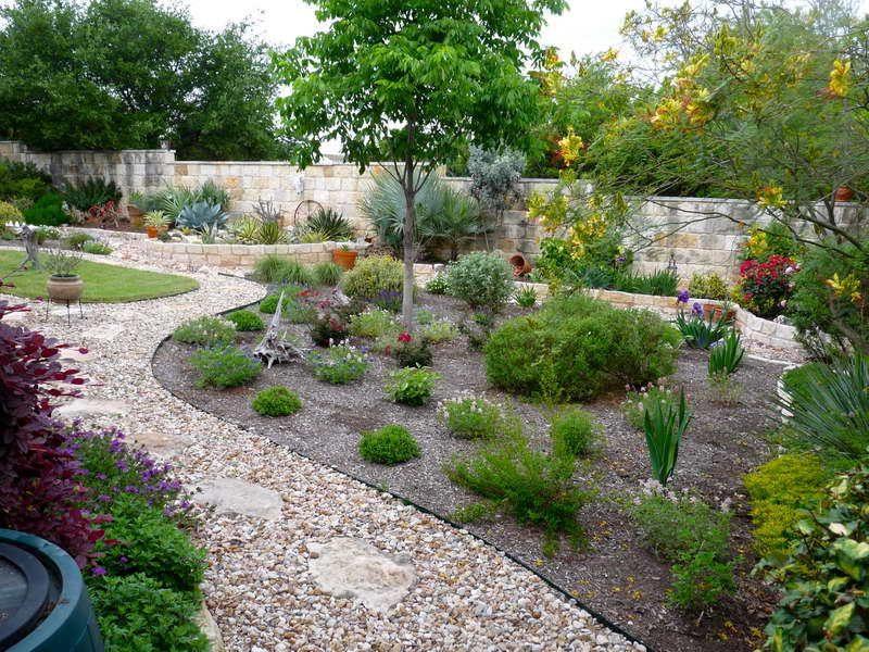 Gartengestaltung mit kies blickfang und kaum pflege for Gartengestaltung modern kies