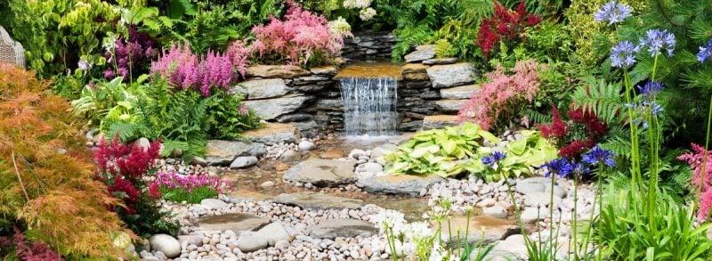 Gartengestaltung mit Kies Japanisch