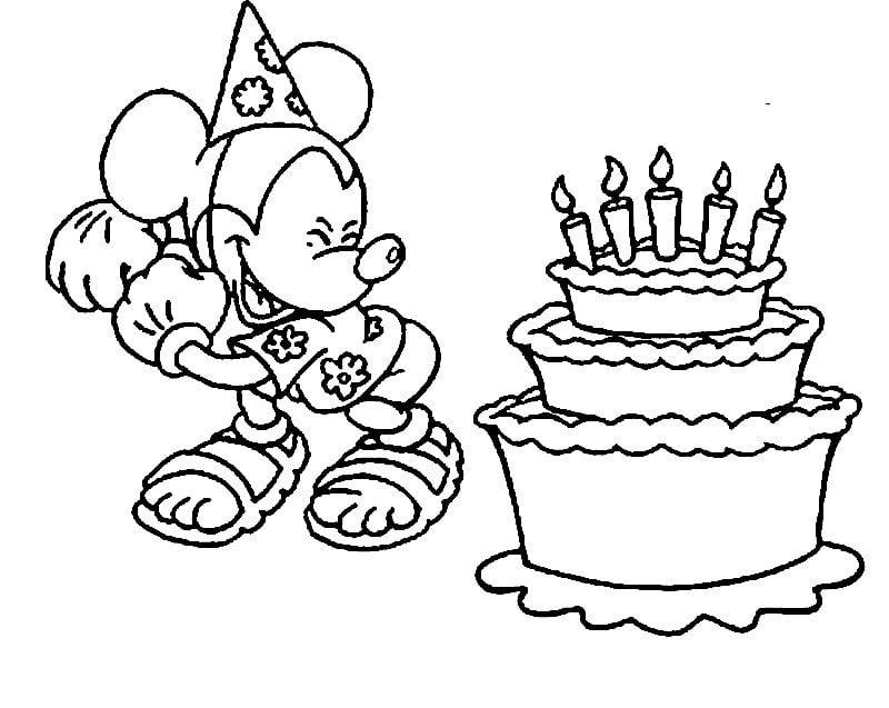 Geburtstagstorte Bilder Mickey Maus