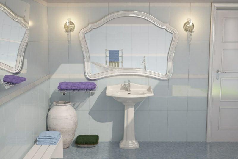 Wandlampen Spiegelbeleuchtung im Bad