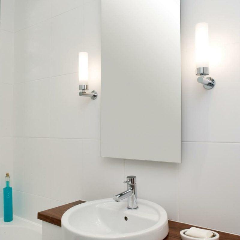 Beleuchtung des Badspiegels