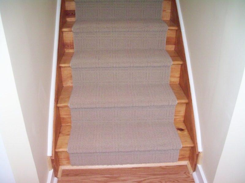weicher Treppenteppich