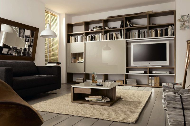 20 stilvolle ideen h lsta wohnwand zu gestalten innendesign m bel zenideen. Black Bedroom Furniture Sets. Home Design Ideas