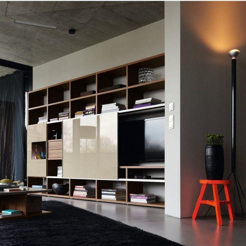 20 Stilvolle Ideen Hlsta Wohnwand Zu Gestalten