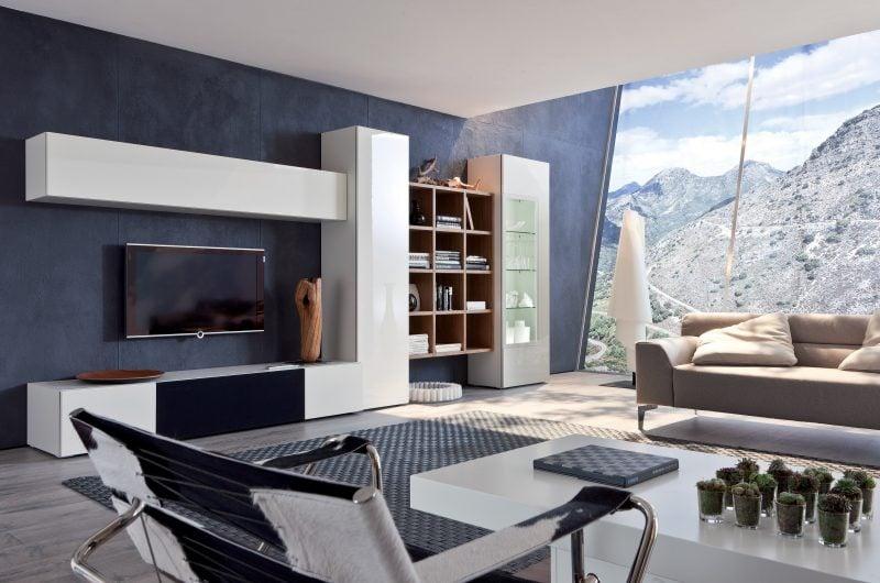 20 stilvolle ideen h lsta wohnwand zu gestalten - Wohnwand gestalten ...