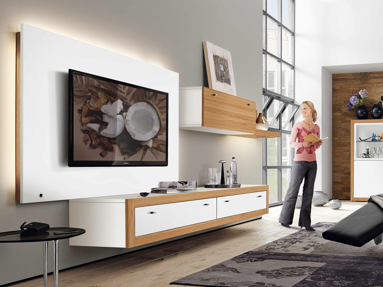 20 stilvolle ideen h lsta wohnwand zu gestalten innendesign m bel zenideen - Innendesign wohnzimmer ...