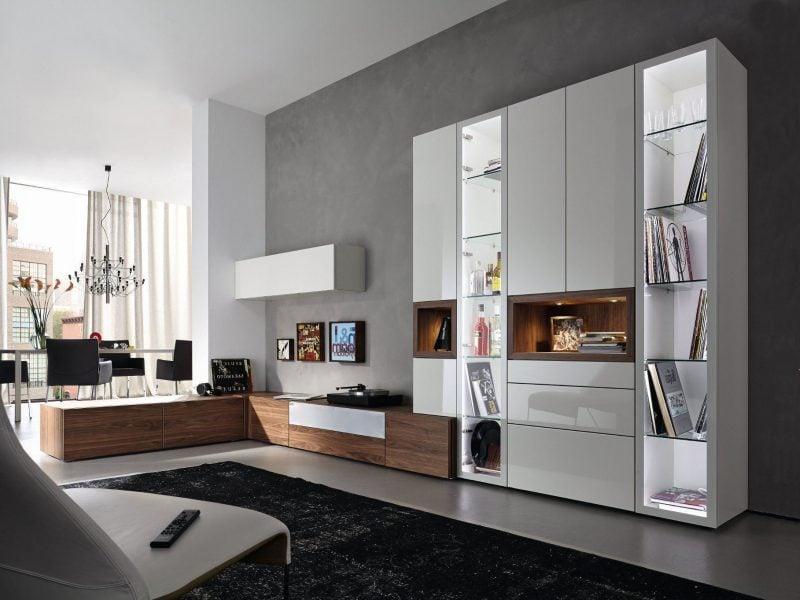 20 stilvolle ideen h lsta wohnwand zu gestalten. Black Bedroom Furniture Sets. Home Design Ideas