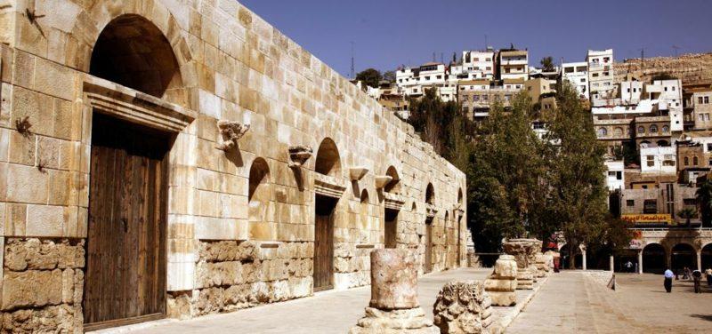hauptstadt-von-jordanien A Hashemite quarter in Amman Jordan