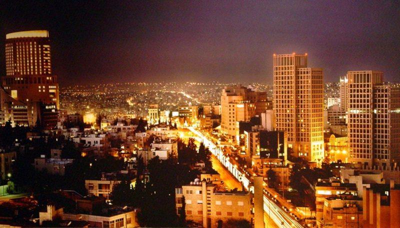 hauptstadt-von-jordanien AmmanNight