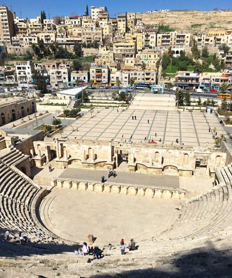 hauptstadt-von-jordanien Ausgrabungen