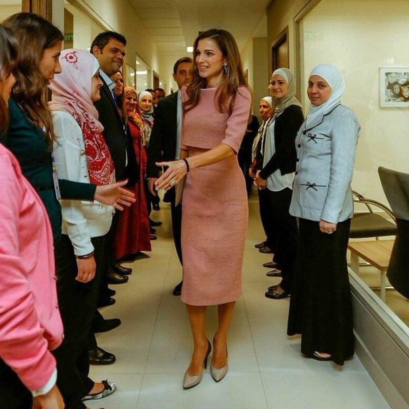 hauptstadt-von-jordanienModern Monarch Queen Rania of Jordan