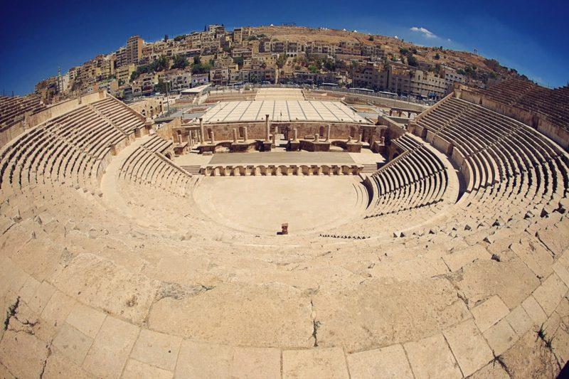 hauptstadt-von-jordanienRömisches Theater amman jordan