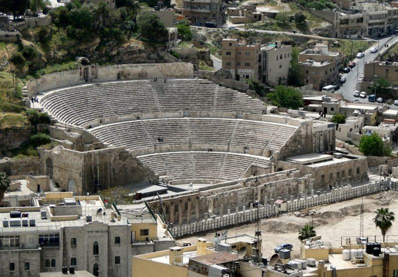 hauptstadt-von-jordanien Römisches Theater
