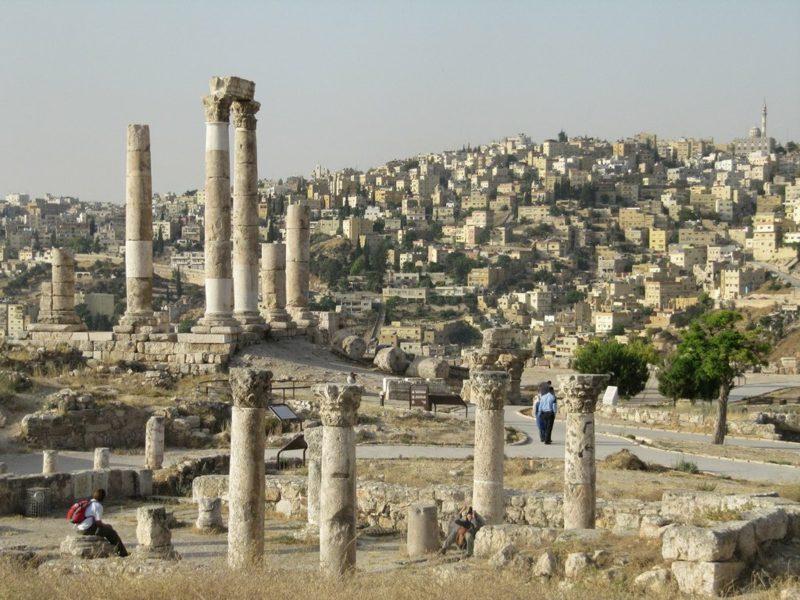 hauptstadt-von-jordanienThe Citadel Amman Jordan
