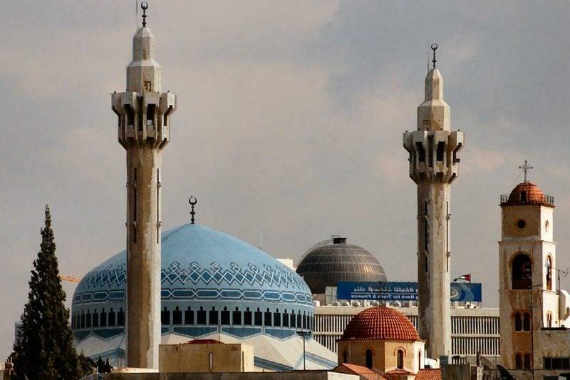 hauptstadt-von-jordanienking abdullah mosque amman