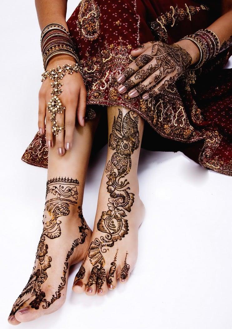 henna tattoo vorlagen ausgefallen