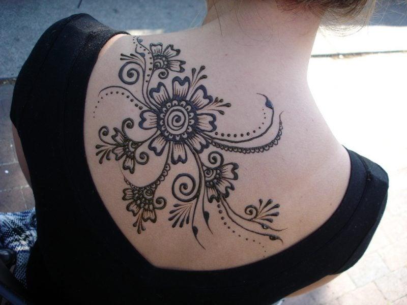 henna tattoo vorlagen angesagt