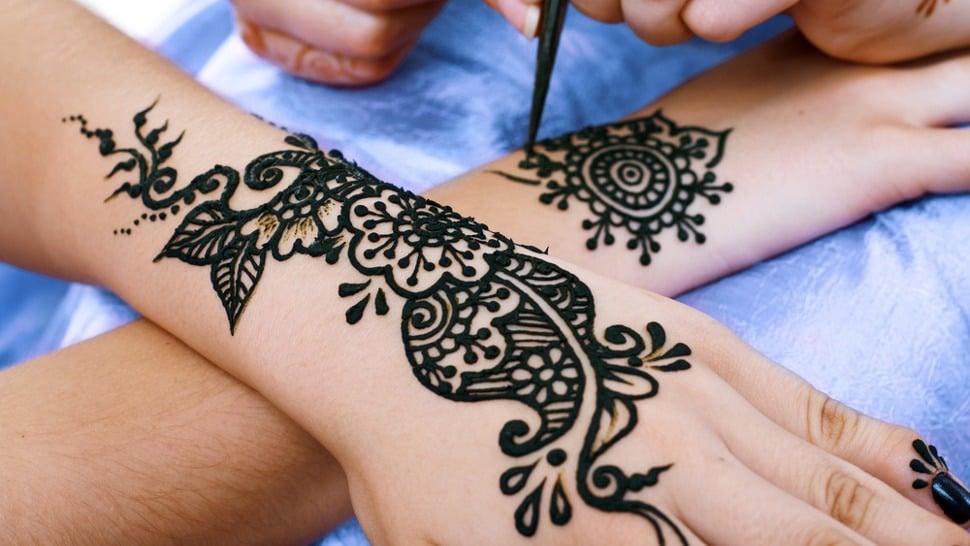 beeindruckende henna tattoo vorlagen