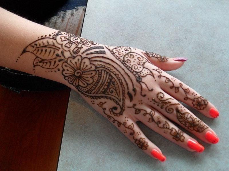 henna tattoo vorlagen faszinierend