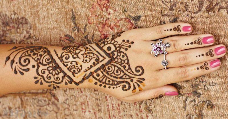 henna tattoo vorlagen einzigartig