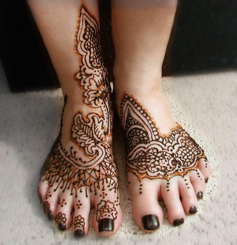 henna tattoo vorlagen kreativ