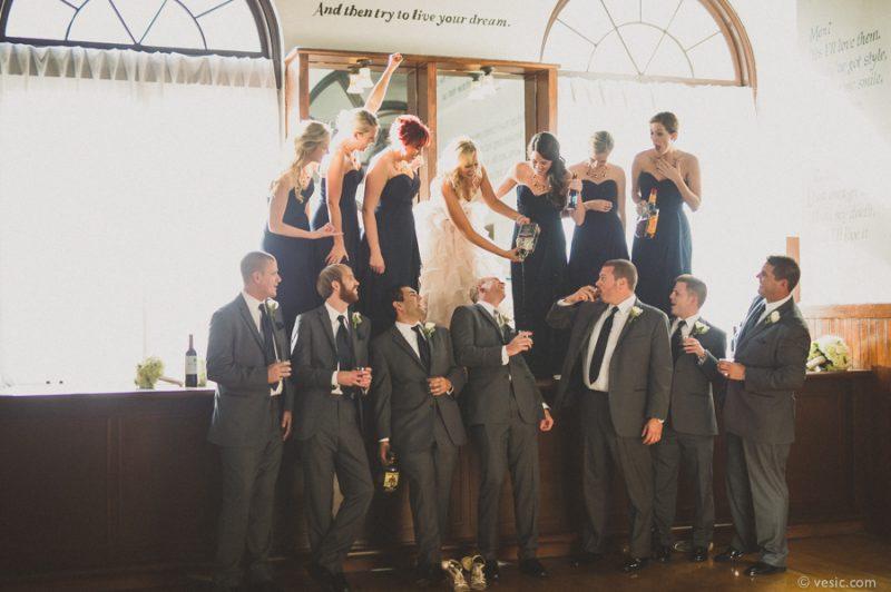 Hochzeitsbilder mit Alkohol