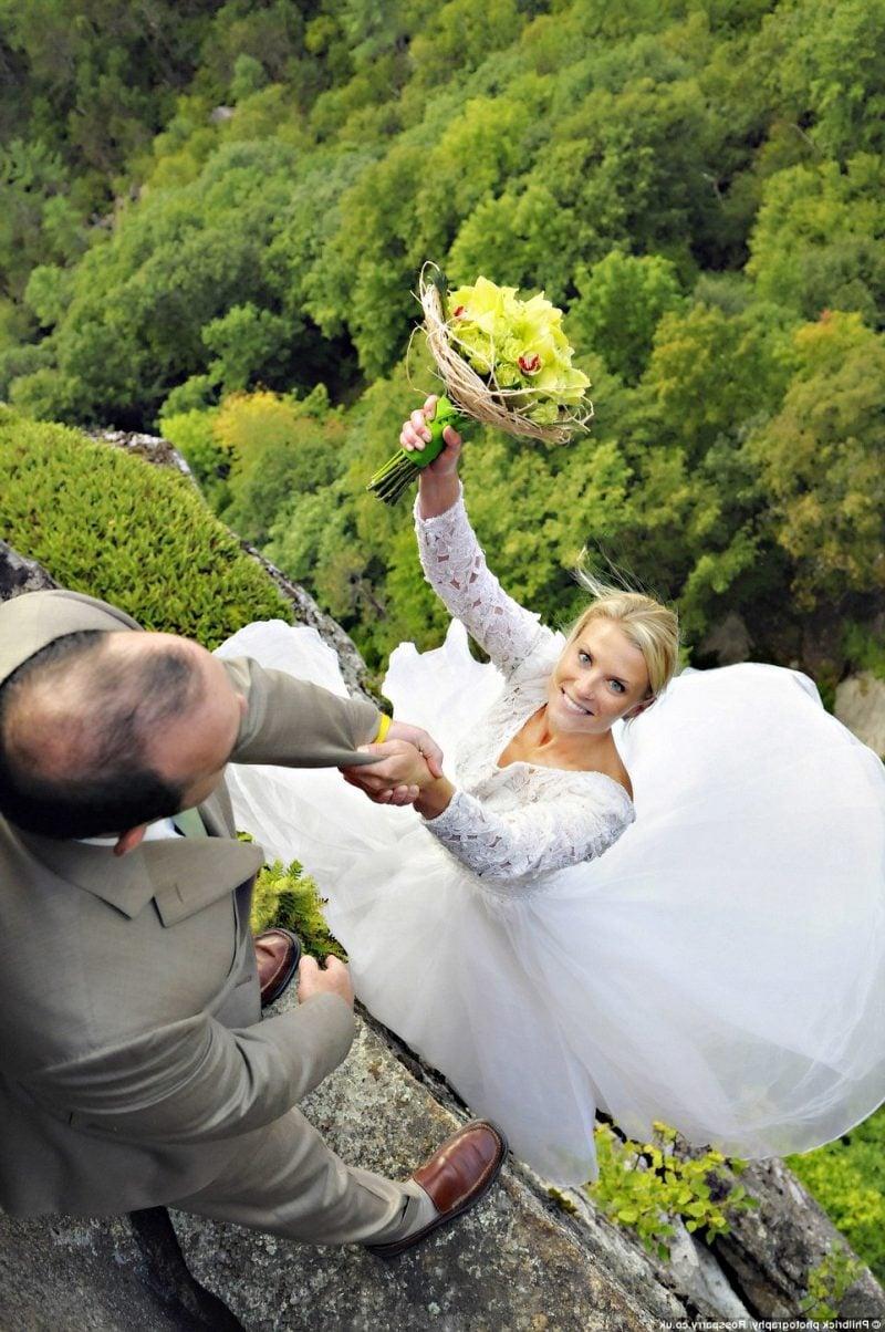 Hochzeitsbilder Extreme Ideen