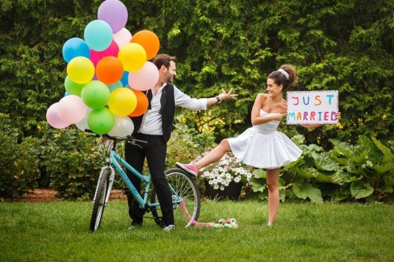 Hochzeitsbilder kreative Ideen