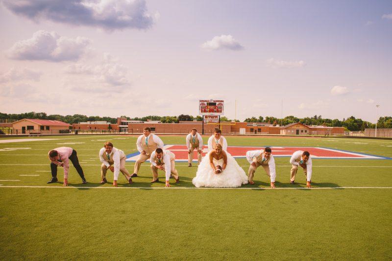 Hochzeitsbilder Idee mit Sport