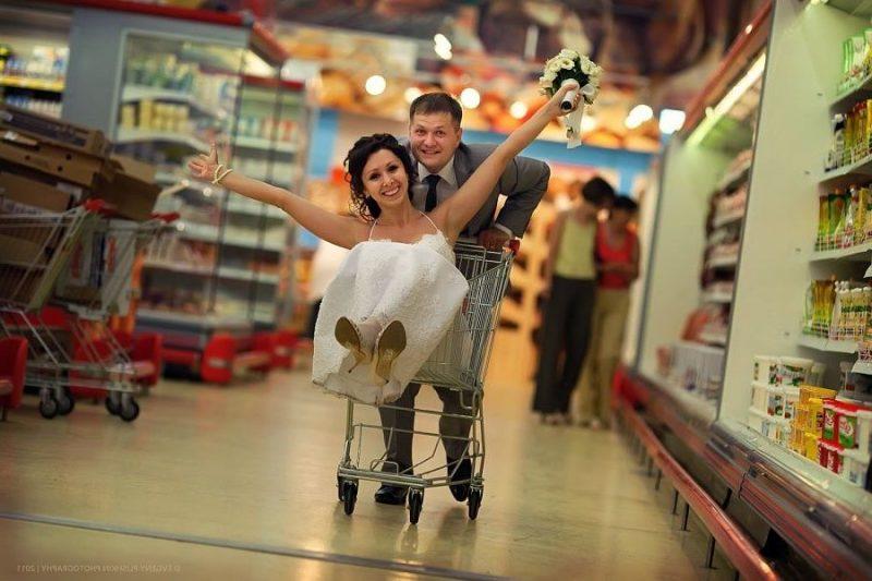 Hochzeitsbilder Supermarket
