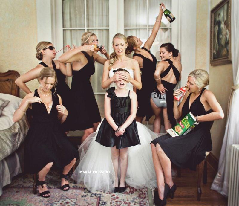 Hochzeitsbilder Team Braut