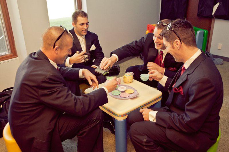 Hochzeitsbilder Team Bräutigam