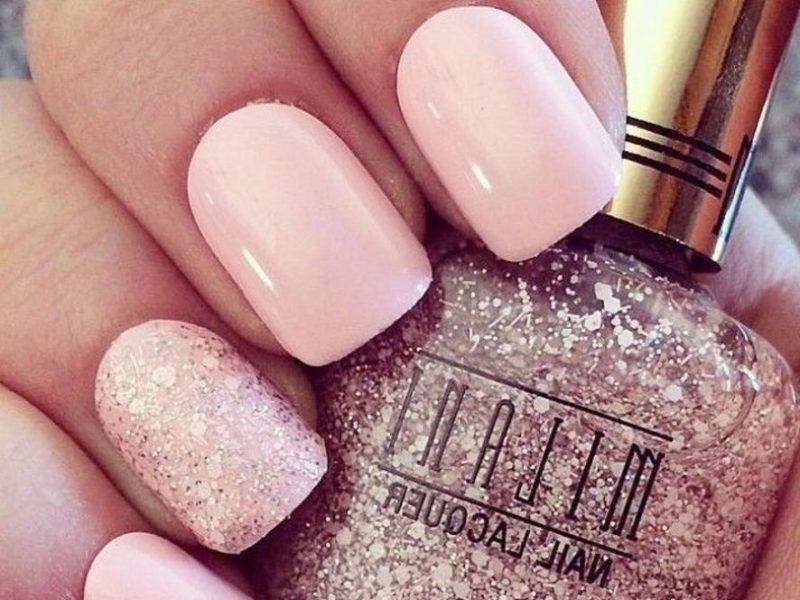 hochzeitsnägel rosa