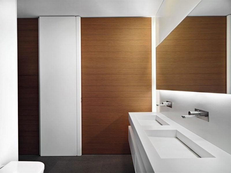 Holz Wandverkleidung Ist Pflegeleicht Und Elegant Holz Wandverkleidung  Badezimmer